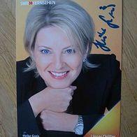 Swr Fernsehmoderatorin Heike Greis Handsigniertes Autogramm Kaufen Bei Hood De