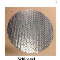 Schachtabdeckung rund Alu-Riffelblech 1,5//2,2,5//4,3,5//5,5//6,bis/Ø950mm Tr/änenblech 1,5//2-/Ø100mm