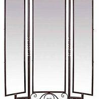 VINTAGE DESIGN METALL SPIEGEL ca.204x130cm EISEN STANDSPIEGEL ANTIK-braun MIRROR