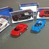 1//87 Euromodell Ferrari F50 Cabrio blau