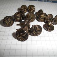 12 mm im Durchmesser 100 Ziernägel//Polsternägel Oxford rosette