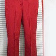 rote Damen Hose Jeans Gr.38 * Zara Basic * leicht ausgestelltes Bein