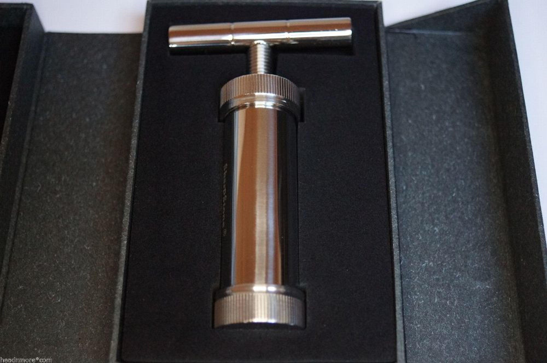 SharpStone Presser aus verchromten Stahl TP6.2 Handpresse Presse Honigpresse