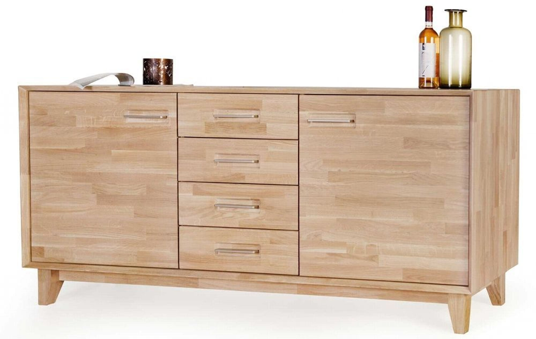 Standard Furniture Massivholz Sideboard Eiche Bianco Oder Kernbuche