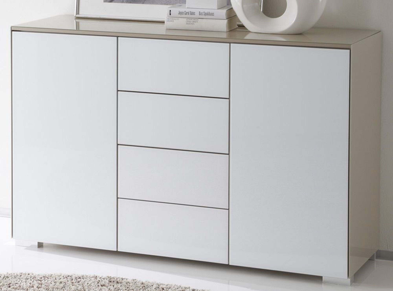 Staud Premium breite Schlafzimmer Kommoden Kommode mit Schubladen Glas v.  Farben