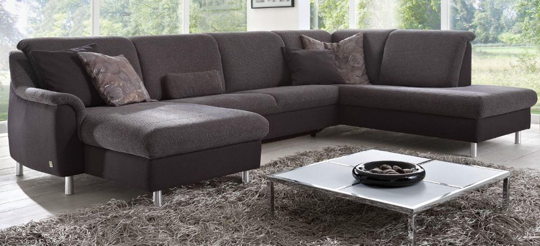 Polstermöbel leder oder stoff  Dietsch Paolo Nero Schlaf Sofa Cortina mit Bettkasten Leder oder ...