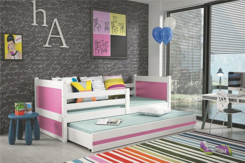 kinderbett joko in wei mit g stebett in verschiedenen. Black Bedroom Furniture Sets. Home Design Ideas