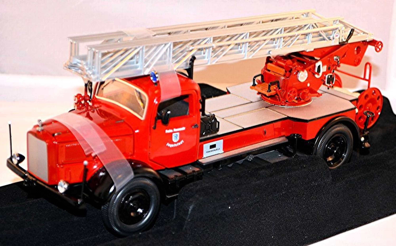 mercedes benz l4500f feuerwehr ingolstadt rot red 1 24. Black Bedroom Furniture Sets. Home Design Ideas