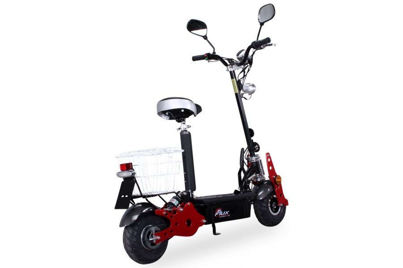 eflux street 40 e scooter mit stra enzulassung inkl korb. Black Bedroom Furniture Sets. Home Design Ideas