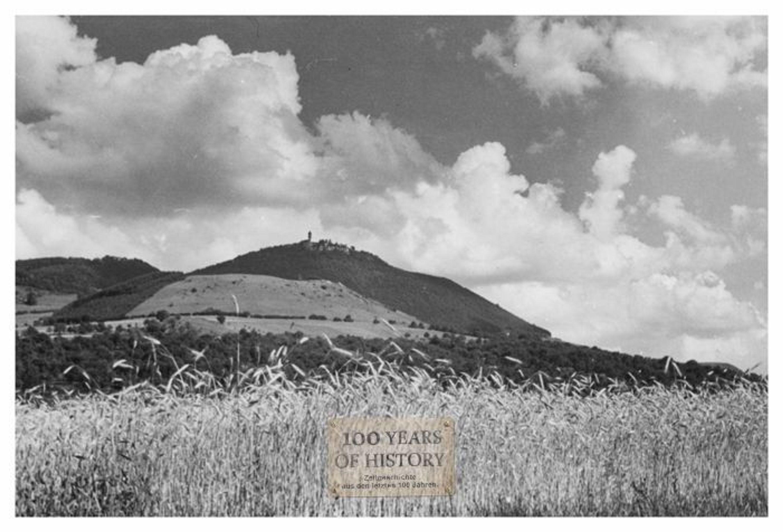 Foto 10er Format Baden-Württemberg Schwäbische Alb Owen Burg Teck ca. 10x15cm