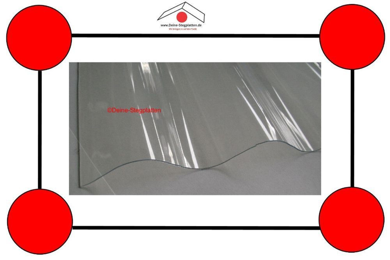 Wellplatten Polycarbonat Hagelfest : polycarbonat wellplatten s76 18 runde welle hagelfest glasklar 2 7 m kaufen bei ~ A.2002-acura-tl-radio.info Haus und Dekorationen