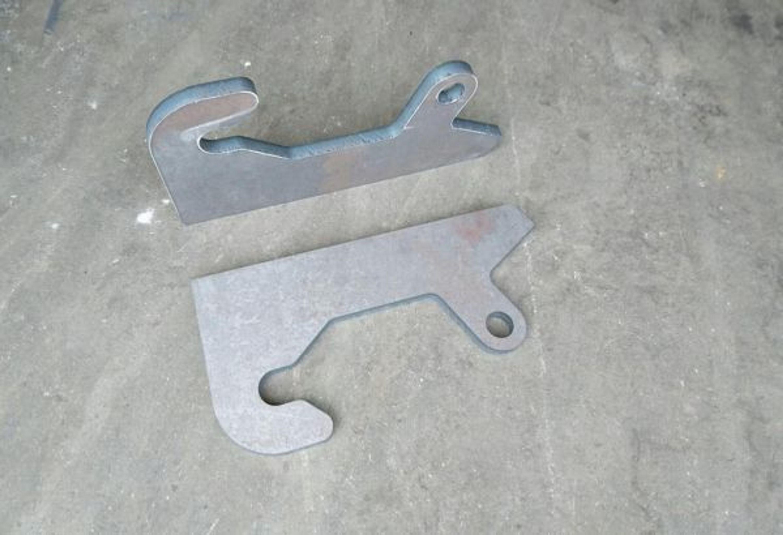Koppelhaken frontlader radlader anschweißkonsole für paus sl