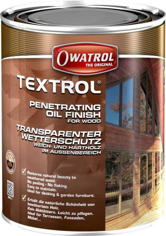 Textrol Transparent 1l Owatrol Holzschutz Ol Holzol Holz Schutz