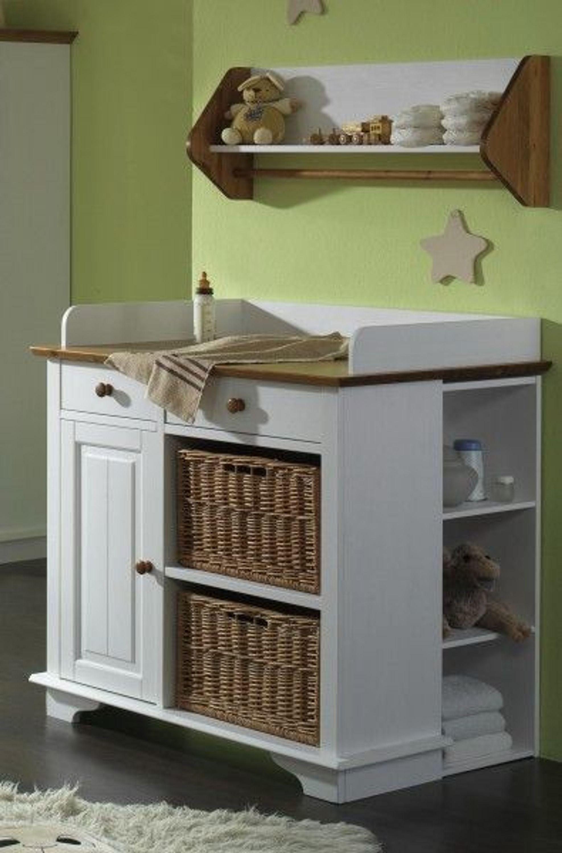 wickelkommode kommode babykommode wickeltisch kiefer massiv kaufen bei. Black Bedroom Furniture Sets. Home Design Ideas