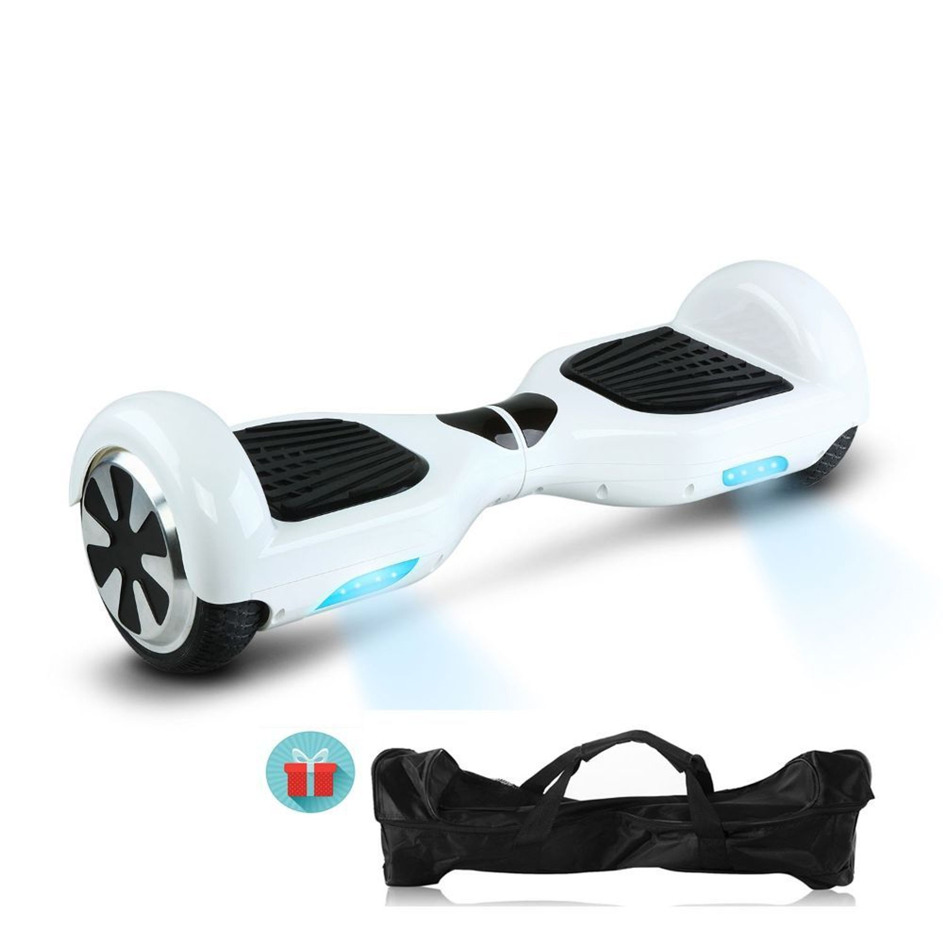 bluetooth hoverboard 6 5 zoll elektro self balance board. Black Bedroom Furniture Sets. Home Design Ideas