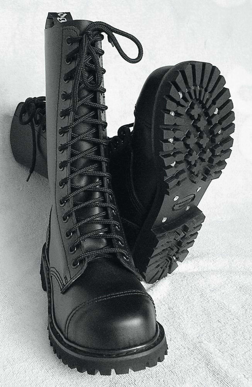 14 Loch Ranger Boots Kampfstiefel Springer Stiefel Knightsbridge Gothic Rangers