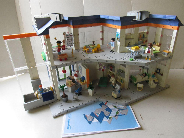 playmobil© 4404 krankenhaus klinik clinic komplett top