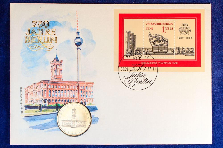 Numisbrief 5 Mark 1987 Ddr 750 Jahre Berlin Münze 30mm Kaufen
