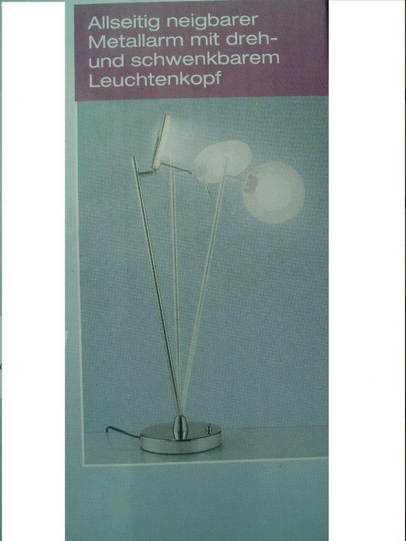 Livarno LUXR LED Tischleuchte In Glanzchrom Optik Neigbar Schwenkbar Kaufen Bei Hoodde