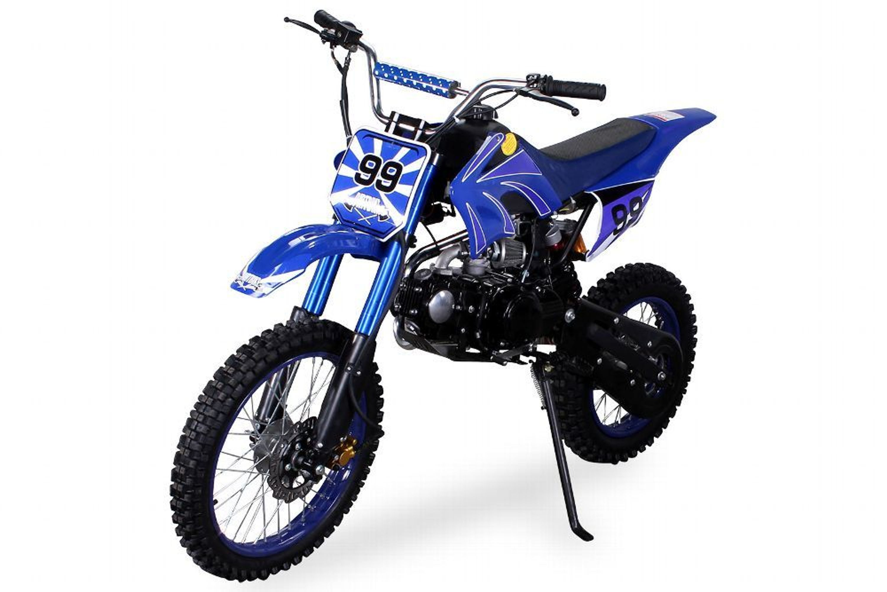 kinder jugend enduro crossbike 125 cc 4 takt. Black Bedroom Furniture Sets. Home Design Ideas