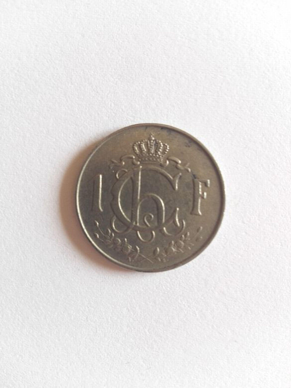 1 Franc Münze Luxemburg 1964 Schön Bis Sehr Schön Kaufen Bei Hoodde