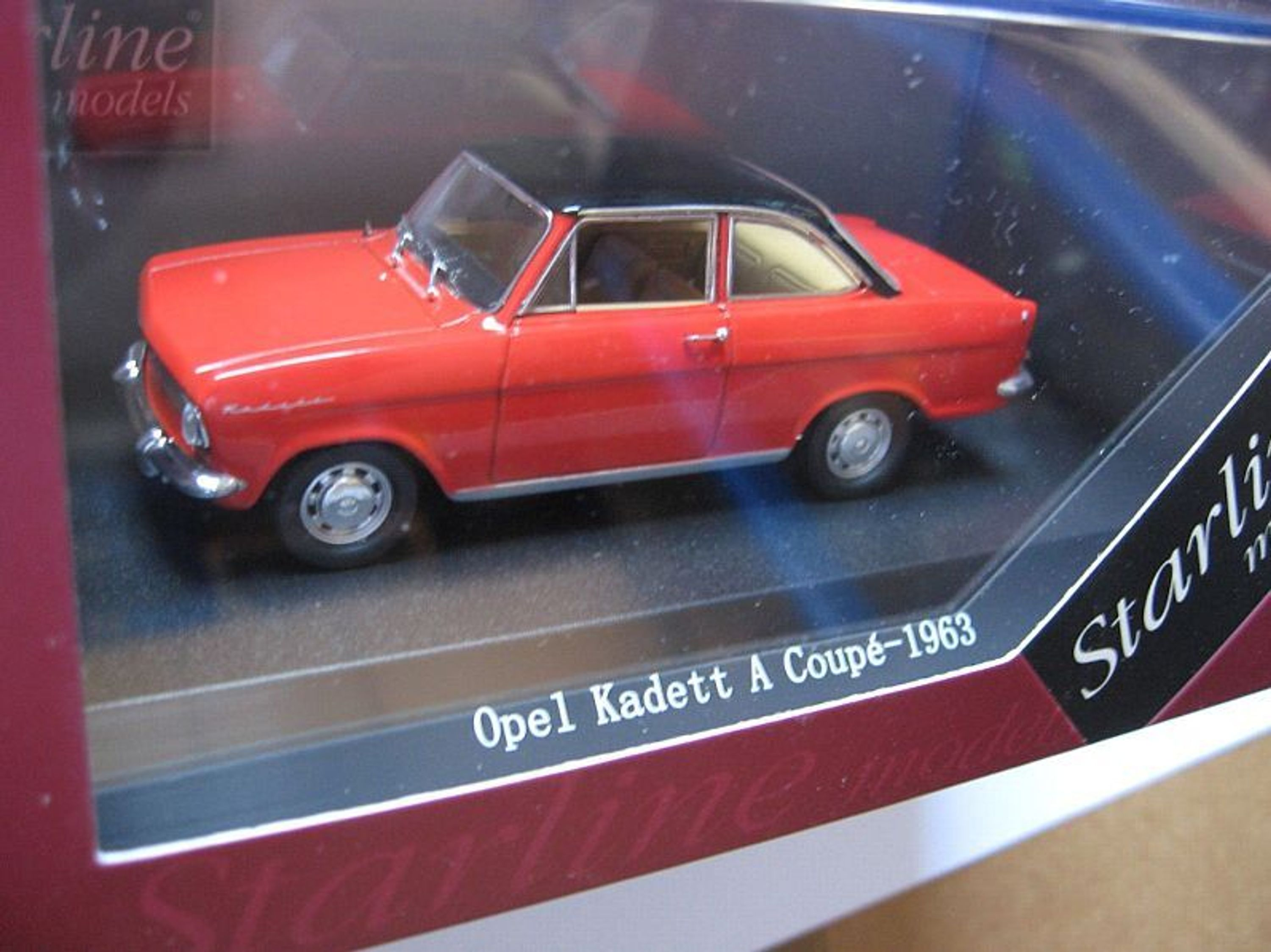opel kadett a coupe von starline 1 43 kaufen bei. Black Bedroom Furniture Sets. Home Design Ideas