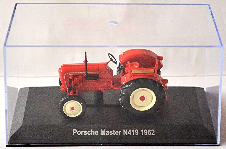 porsche master n419 1962 traktor schlepper rot red 1 43 ebay. Black Bedroom Furniture Sets. Home Design Ideas