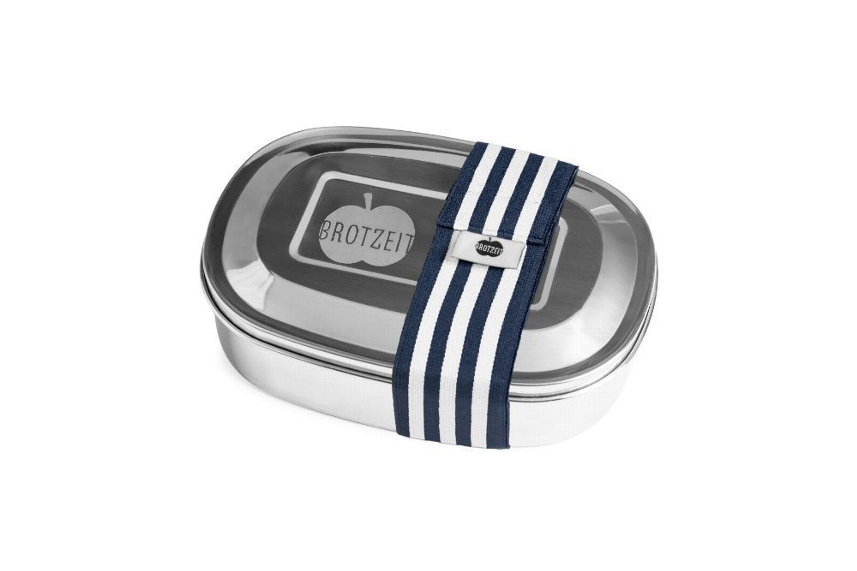 brotzeit lunchbox aus edelstahl mit unterteilung brotdose vesperbox kaufen bei. Black Bedroom Furniture Sets. Home Design Ideas
