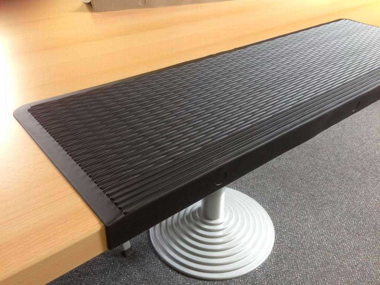 Berühmt 18 x Gummi-Stufenmatten mit Winkelkante, zuschneidbar MS67