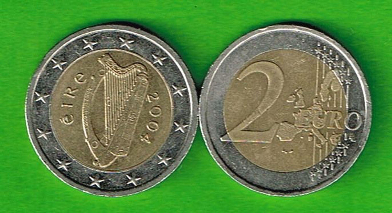 Irland 2 Euro Münze 2004 Kaufen Bei Hoodde