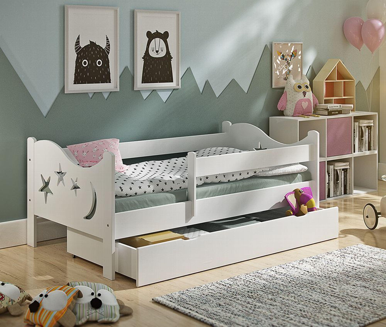 jugendbett kinderzimmer kinderbett chrisi schublade. Black Bedroom Furniture Sets. Home Design Ideas