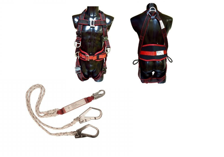 Klettergurt Mit Schnellverschluss : Set komfort 8p auffanggurt fallschutz absturzsicherung klettergurt