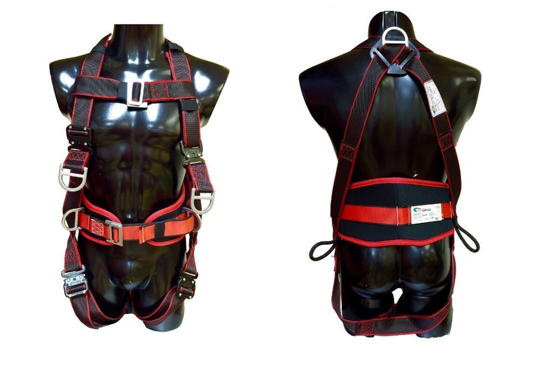 Klettergurt Aus Seil : Set komfort 8p auffanggurt fallschutz absturzsicherung klettergurt