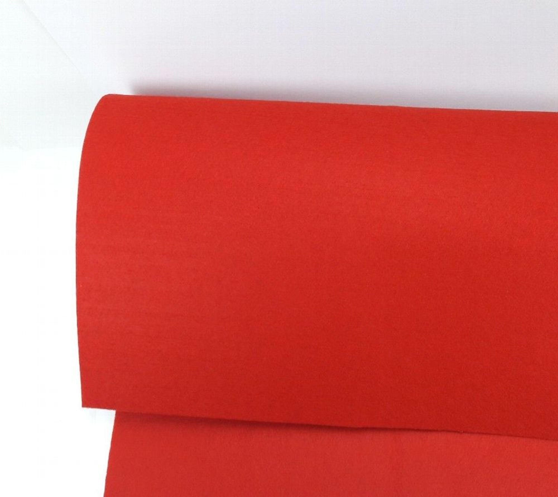 roter filzstoff stoff matte rot 75 cm breit. Black Bedroom Furniture Sets. Home Design Ideas