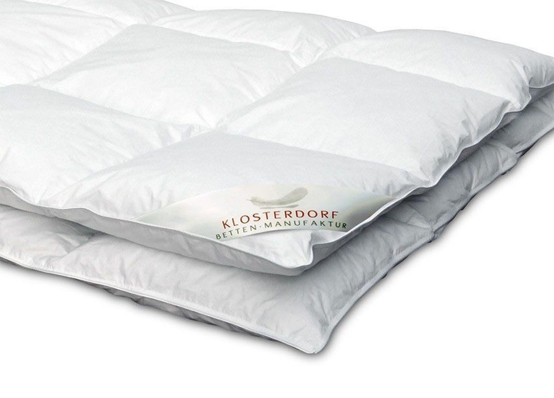 klosterdorf ganzjahresdecke exzellent daunendecke daunenbett bettdecke oberbett kaufen bei. Black Bedroom Furniture Sets. Home Design Ideas