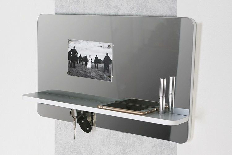 casablanca deko spiegel memo schl sselboard mit wei er ablage b 50 cm 71694 kaufen bei. Black Bedroom Furniture Sets. Home Design Ideas