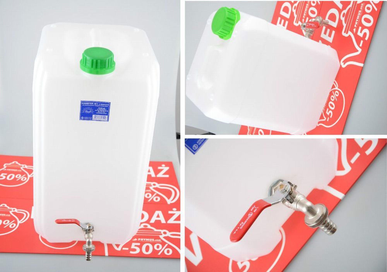 2x Wasserkanister 20l Kanister Trinkwasserkanister Mit Hahn Camping