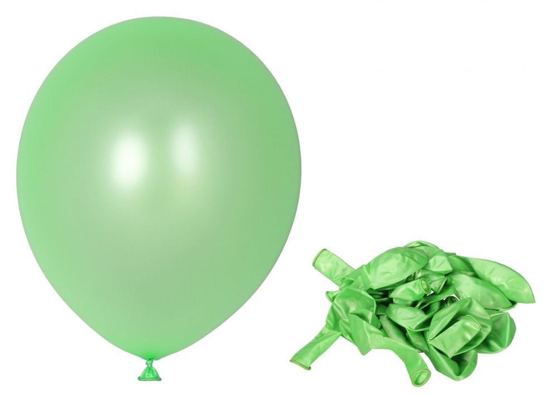 100 Luftballons Hellgrün Partyballons ø305cm Ballons Geburtstag
