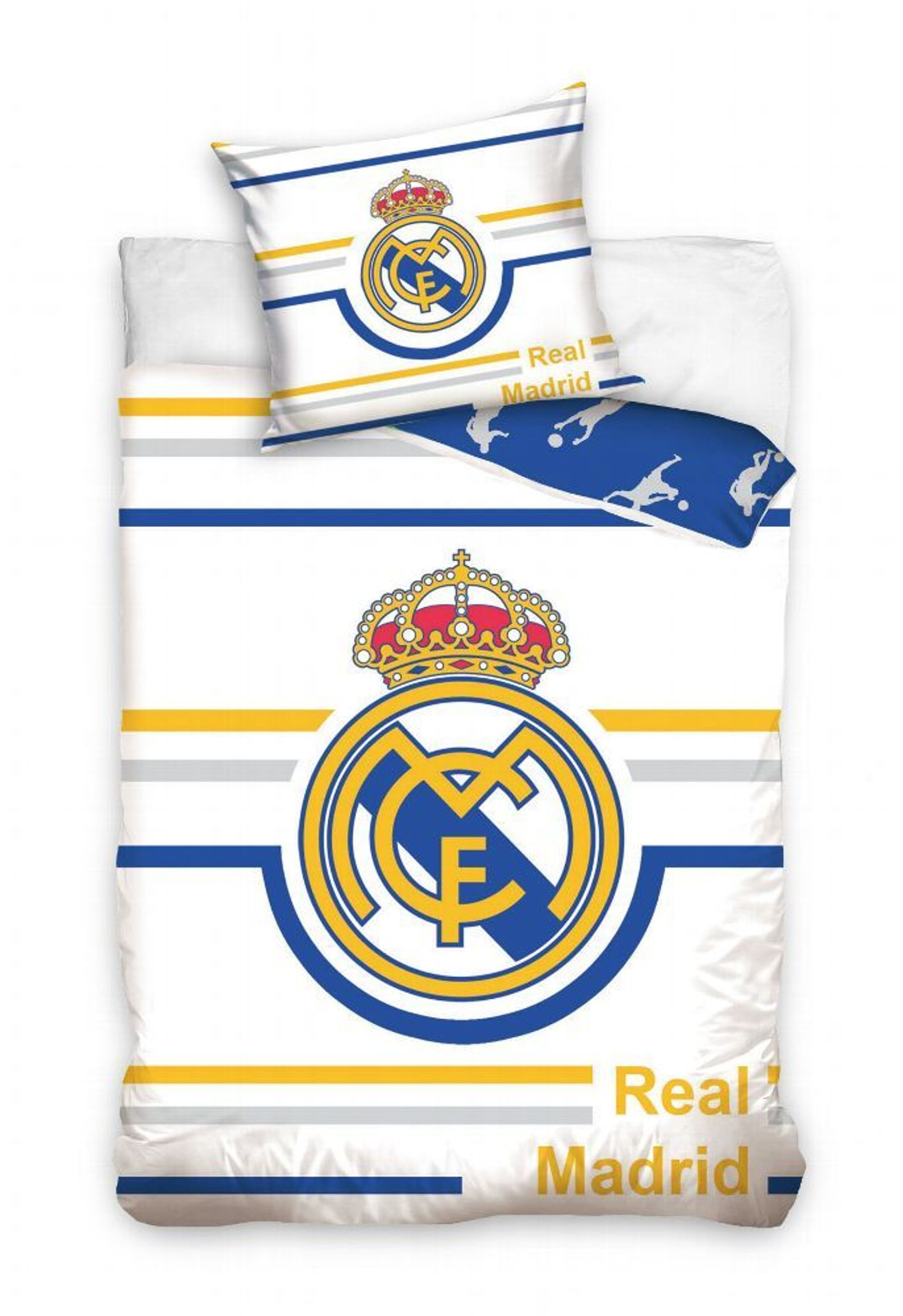Fußball Bettwäsche Real Madrid Bed Linen Football Ronaldo Bale