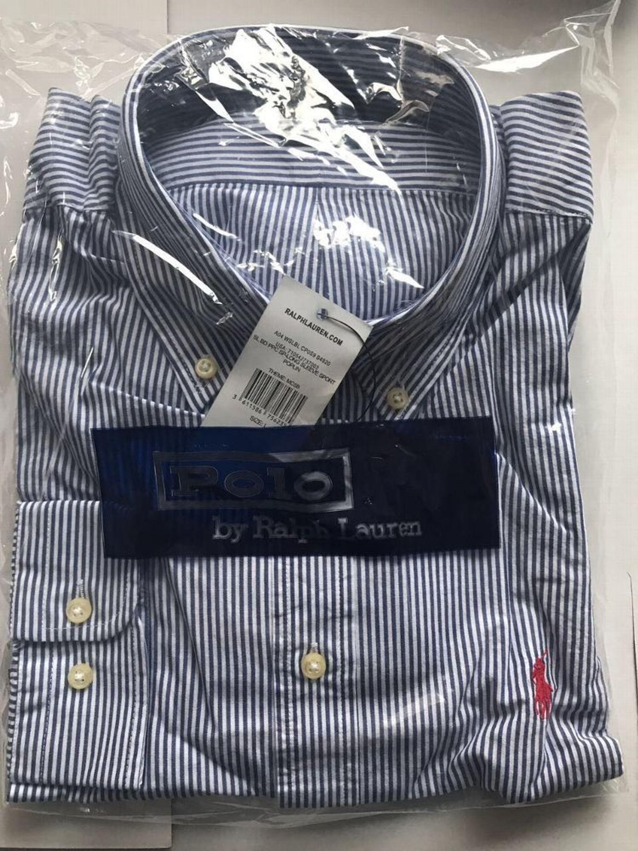 a515fe5488204a Polo Ralph Lauren Herren Hemd Slim Fit Gr. S-XXL blau  weiß gestreift Neu  kaufen bei Hood.de - Farbrichtung Mehrfarbig