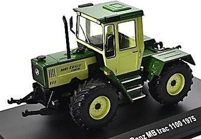 mercedes benz mb trac 1100 1975 traktor schlepper gr n. Black Bedroom Furniture Sets. Home Design Ideas