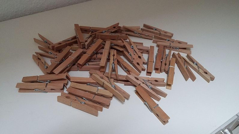 Wascheklammern Aus Holz Holzklammern Zum Basteln Kaufen Bei Hood De