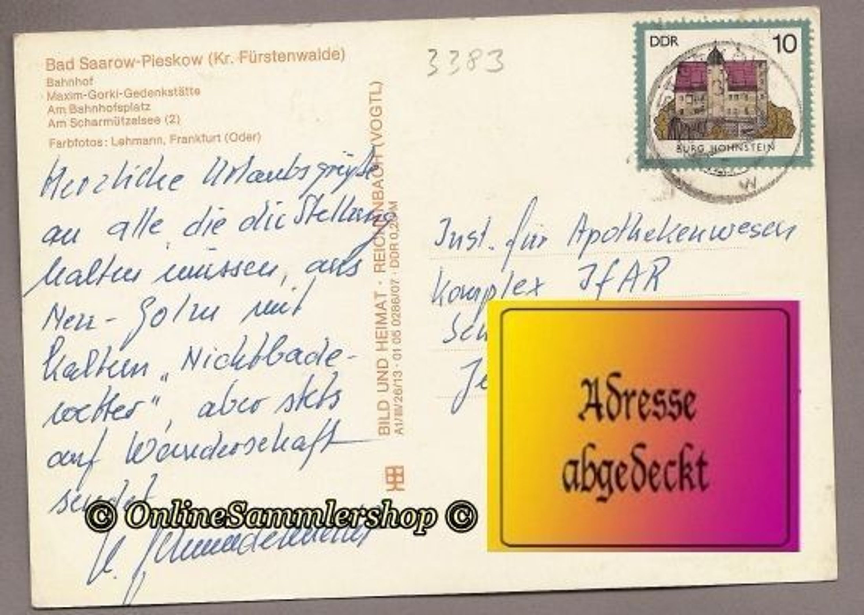 3383) BRD (DDR-Zeit) - AK: Bad Saaraow-Pieskow kaufen bei Hood.de