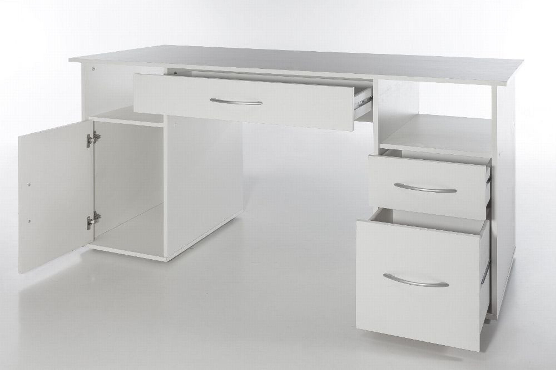 pc schreibtisch weiss. Black Bedroom Furniture Sets. Home Design Ideas