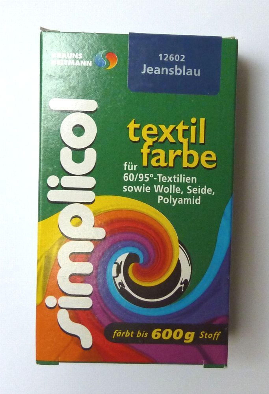 Textilfarbe Entfernen
