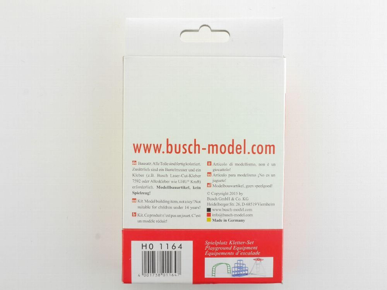 Kletterbogen Bausatz : Busch 1164 kinder spielplatz kletter set modellbahn h0 neu ovp st