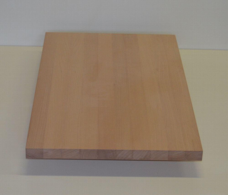Massivholzplatte Holzplatte Buche Durchgehende Lamellen Versch