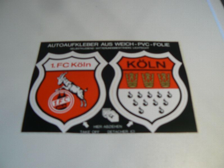 Aufkleber 1 Fc Köln Motiv 10 Gebraucht Neuwertig
