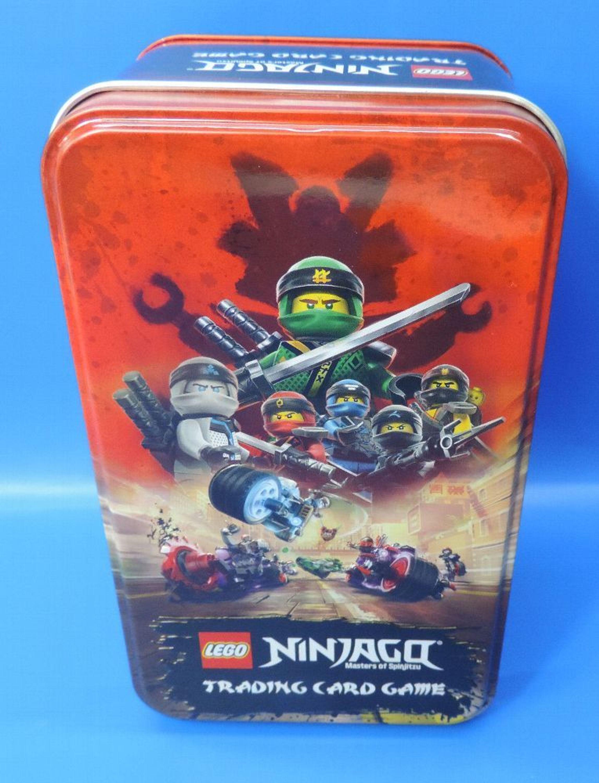 Tin Box groß Blue Ocean Lego® Ninjago Serie 3 leer für Sammelkarten
