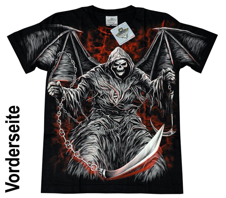 new styles d1480 fb3b5 Herren T-Shirt Rock Eagle Heavy Metal Biker Tattoo Rocker M-XL, XXXL (4003)